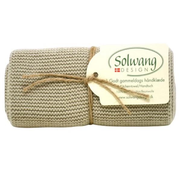 Solwang - Küchenhandtuch - Hell Oliven H13