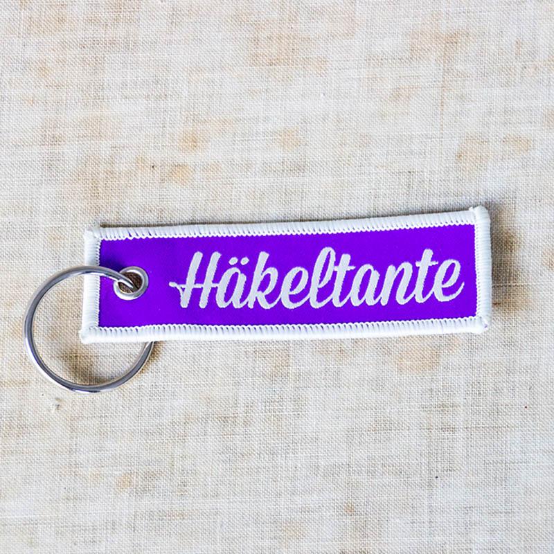 Strickimicki - Schlüsselanhänger - Häkeltante