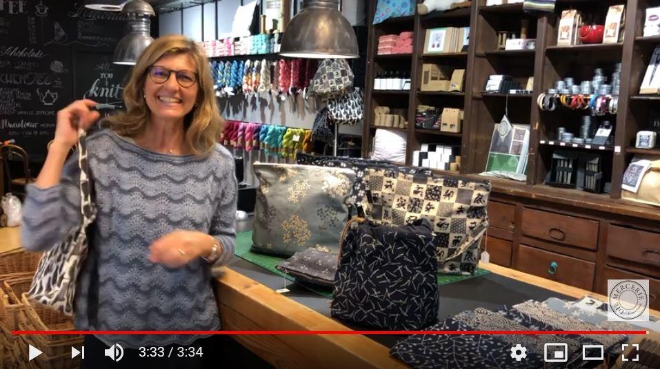 Video-Mercerie-Projekttaschen