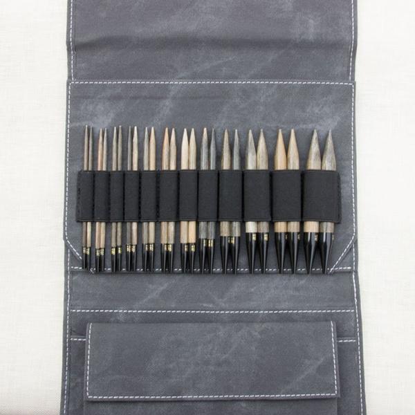 """LYKKE Driftwood 5"""" IC Knitting Needle Set"""