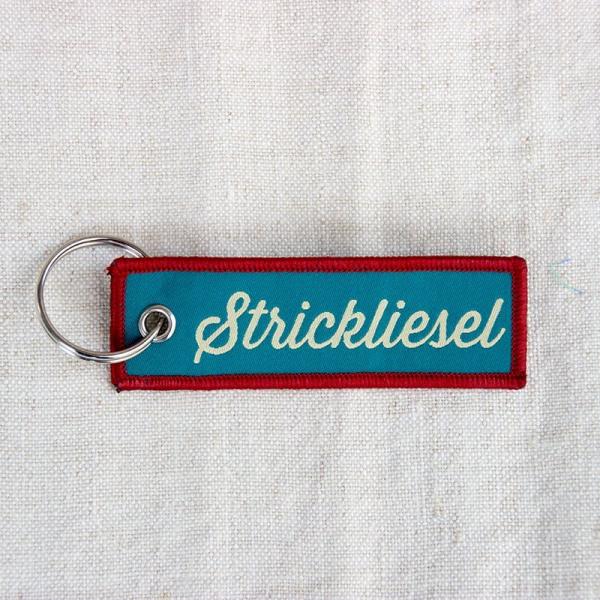 Strickimicki - Schlüsselanhänger - Strickliesel