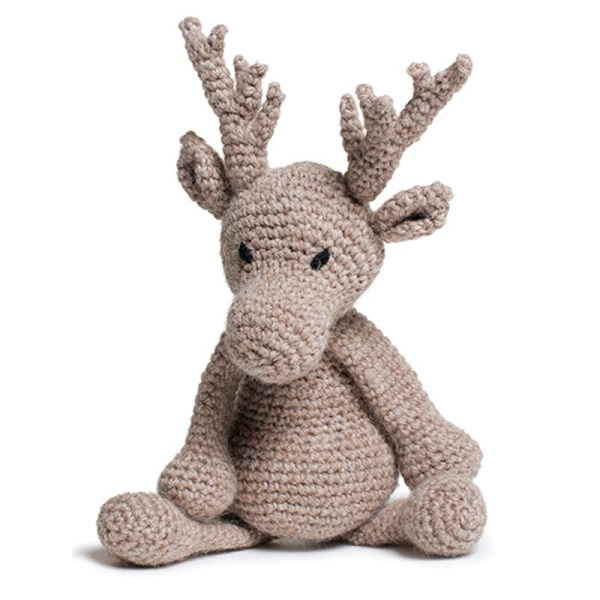 "Toft Häkel-Kit: Rentier ""Donna, the Reindeer"""