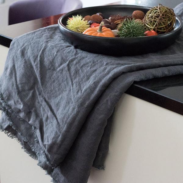 AquaVireo - Leinen-Tischdecken