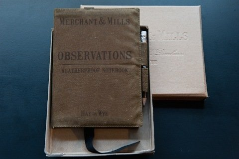 Merchant and Mills - Observations Notebook