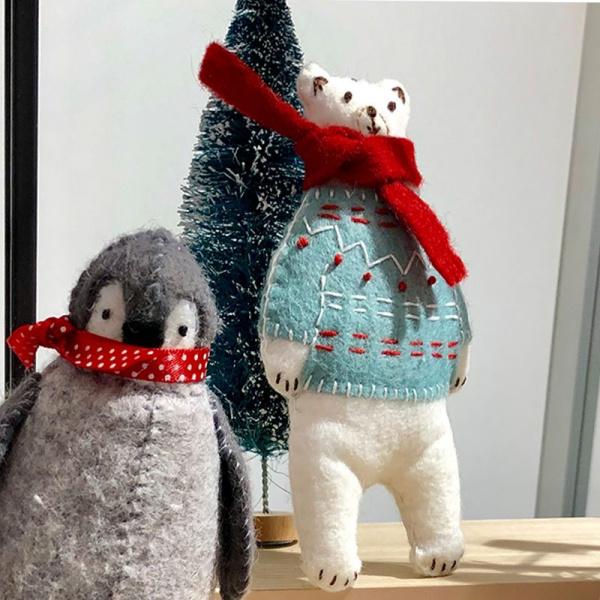 Corinne Lapierre Stick-Kit Eisbär