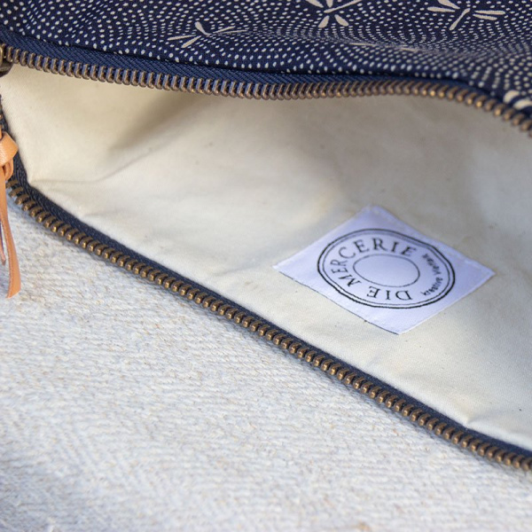 Die Mercerie Notions Pouch Circle