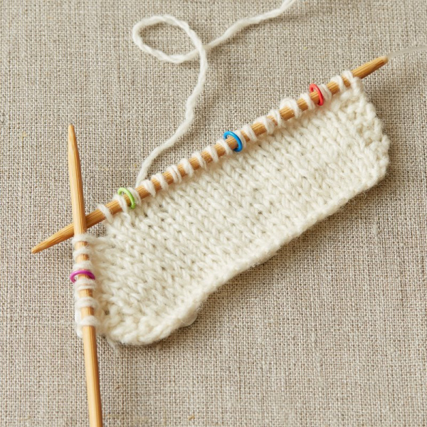 CocoKnits - Colored Ring Stitch Marker - small