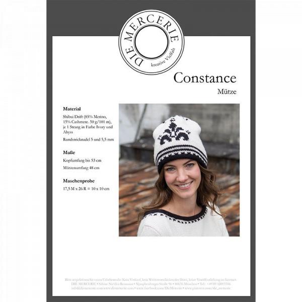 Anleitung Mütze Constance