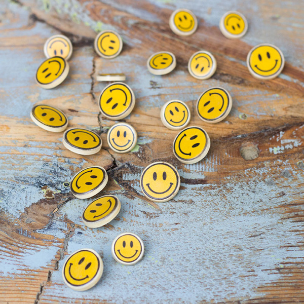 Knopf Smiley