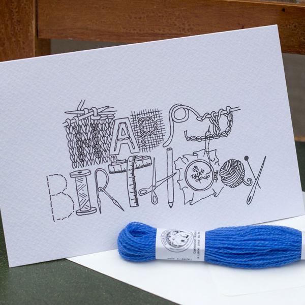 Happy Birthday Karte DIY by KIM WELCH