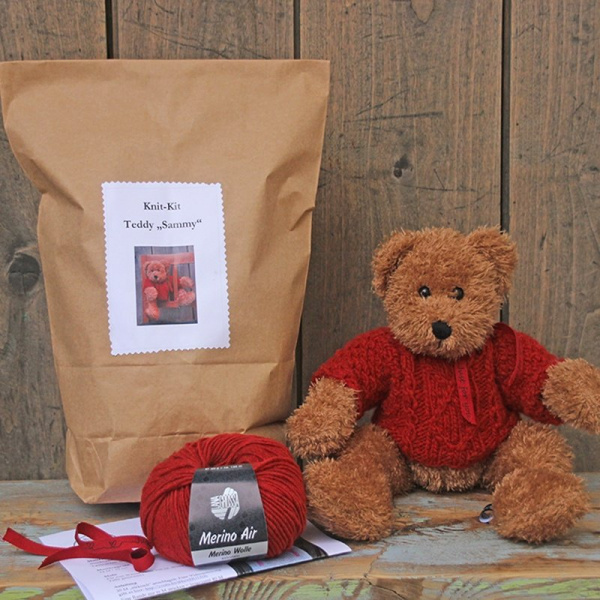 Knit-Kit Teddy Sammy