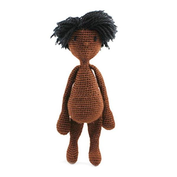 "Toft Häkel-Kit: ""Doll with short hair"""